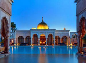 Роскошный отель в Марокко