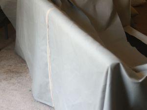 Чехол на диван своими руками37