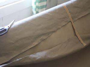 Чехол на диван своими руками38