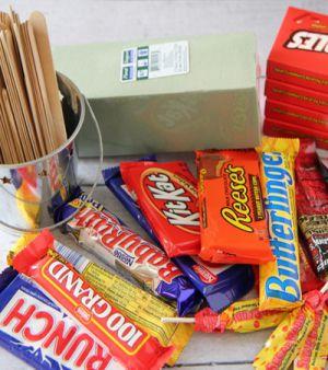 Подарки из конфет6