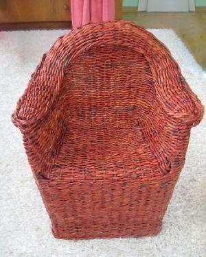 25. Плетеная мебель своими руками