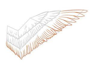 как нарисовать ангела 11