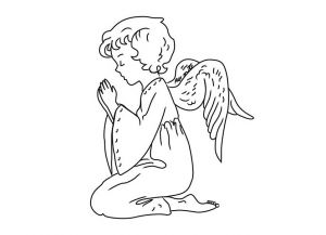 как нарисовать ангела 20
