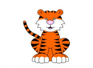 Как нарисовать тигра 13