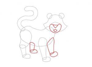 Как нарисовать тигра 16