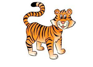 Как нарисовать тигра 20