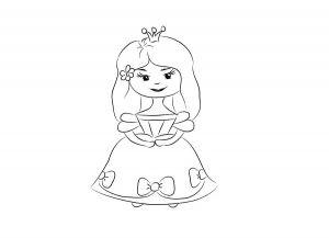 как нарисовать принцессу 11