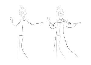 как нарисовать принцессу 28