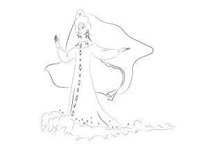 как нарисовать принцессу 30