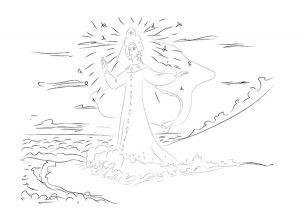 как нарисовать принцессу 31