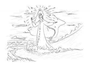 как нарисовать принцессу 32