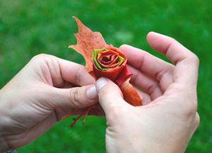 Осенний букет своими руками в школу 5