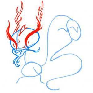 как нарисовать дракона 11