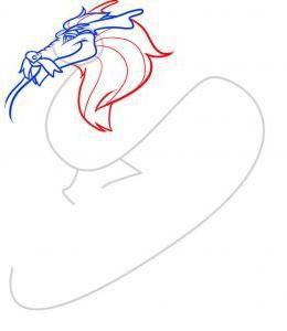 как нарисовать дракона 35