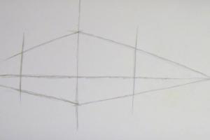 как нарисовать дом 4