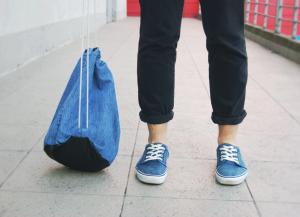 Мешок для обуви школьный 33