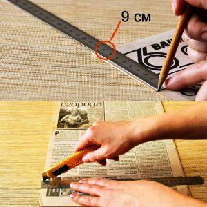 поделки из газетных трубочек для начинающих пошагово 1