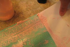 как украсить бока торта из мастики 3