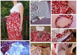 4 своими руками одежда для беременных