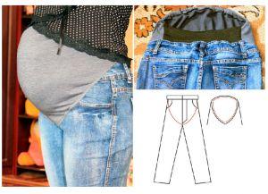 6 своими руками одежда для беременных
