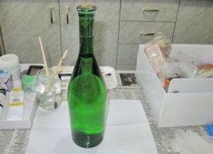 декорирование бутылок своими руками 29