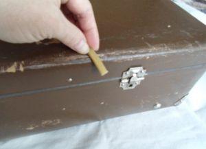 декупаж чемодана6