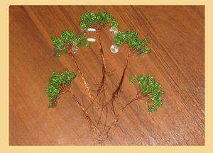 денежное дерево из бисера13