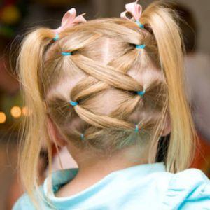 причёски для детей 3