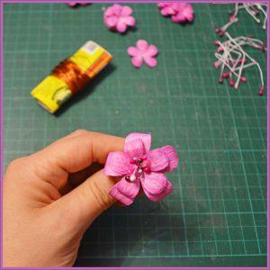 Цветы для скрапбукинга своими руками 24 (Copy)