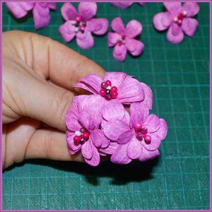 Цветы для скрапбукинга своими руками 27 (Copy)