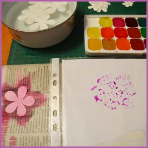 Цветы для скрапбукинга своими руками 6 (Copy)