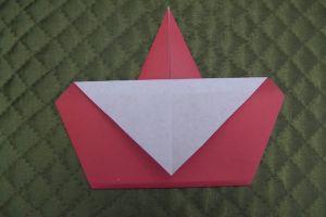 дед мороз из бумаги (9)