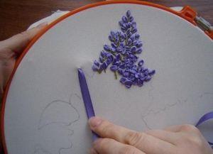 Как научиться вышивать лентами 9