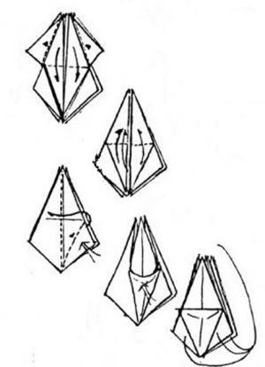 Как сделать из бумаги трансформера 9