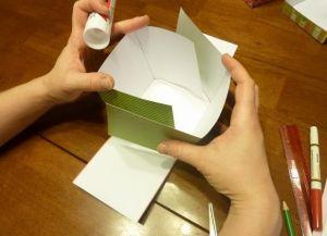 как сделать коробку из бумаги 15