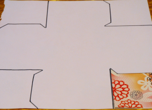 как сделать коробку из бумаги 23