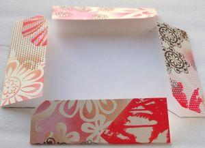 как сделать коробку из бумаги 24