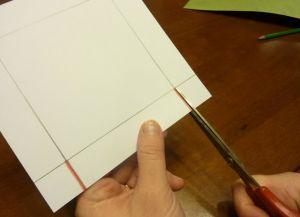 как сделать коробку из бумаги 3