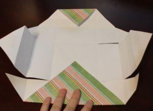 как сделать коробку из бумаги 47