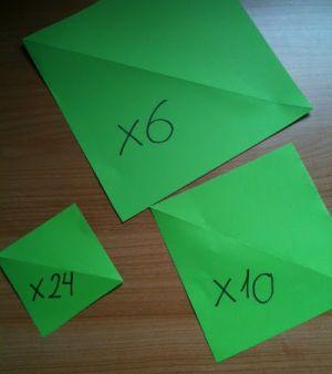 как сделать крипера из бумаги 12