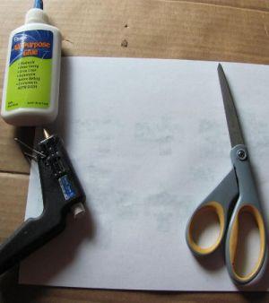 как сделать крипера из бумаги 7