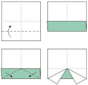 как сделать машинку из бумаги_2