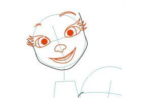 как нарисовать барбоскиных 2