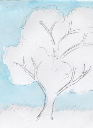 Как нарисовать дерево 12