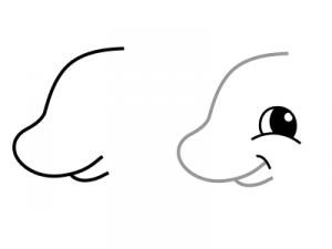 как нарисовать динозавра 15