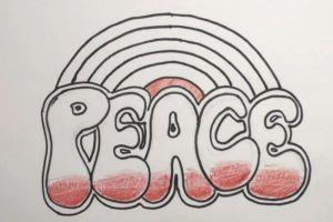 Как нарисовать граффити на бумаге 10