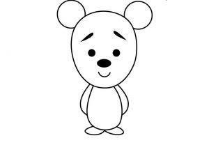 как нарисовать медведя 12