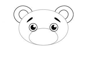 как нарисовать медведя 2