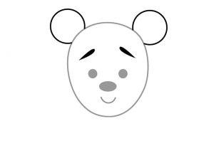 как нарисовать медведя 9