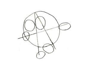 как нарисовать смешариков 25